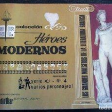 Tebeos: COLECCIÓN HÉROES MODERNOS - SERIE C - Nº 4 - BUEN ESTADO. Lote 143052666