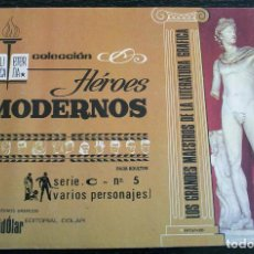 Tebeos: COLECCIÓN HÉROES MODERNOS - SERIE C - Nº 5 - BUEN ESTADO. Lote 143053122