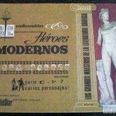 Tebeos: COLECCIÓN HÉROES MODERNOS - SERIE C - Nº 7 - BUEN ESTADO. Lote 143090366
