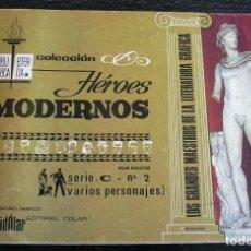 Tebeos: COLECCIÓN HÉROES MODERNOS - SERIE C - Nº 2 - MUY BUEN ESTADO. Lote 179532887