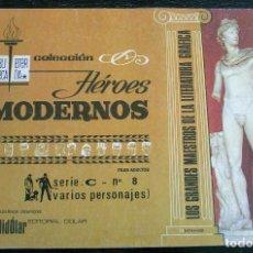 Tebeos: COLECCIÓN HÉROES MODERNOS - SERIE C - Nº 8 - MUY BUEN ESTADO. Lote 143096270