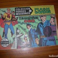 Tebeos: HEROES MODERNOS SERIE B FLASH GORDON Nº 15 EDITA DOLAR . Lote 143463550