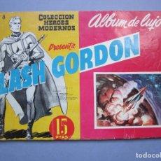 Tebeos: FLASH GORDON (1961, DOLAR) -ALBUM DE LUJO- 8 · VIII-1961 · FLASH GORDON. Lote 145506814