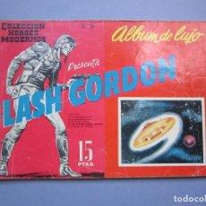 Tebeos: FLASH GORDON (1961, DOLAR) -ALBUM DE LUJO- 9 · IX-1961 · FLASH GORDON. Lote 145508410