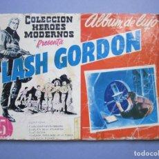 Tebeos: FLASH GORDON (1961, DOLAR) -ALBUM DE LUJO- 1 · I-1961 · FLASH GORDON. Lote 145508630