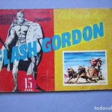 Tebeos: FLASH GORDON (1961, DOLAR) -ALBUM DE LUJO- 13 · I-1962 · FLASH GORDON. Lote 145513154