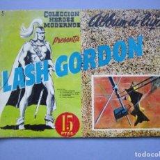 Tebeos: FLASH GORDON (1961, DOLAR) -ALBUM DE LUJO- 5 · V-1961 · FLASH GORDON. Lote 145513602