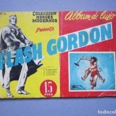 Tebeos: FLASH GORDON (1961, DOLAR) -ALBUM DE LUJO- 15 · III-1962 · FLASH GORDON. Lote 145513858