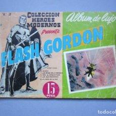 Tebeos: FLASH GORDON (1961, DOLAR) -ALBUM DE LUJO- 2 · II-1961 · FLASH GORDON. Lote 145514394