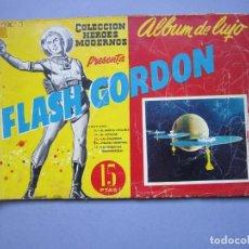 Tebeos: FLASH GORDON (1961, DOLAR) -ALBUM DE LUJO- 3 · III-1961 · FLASH GORDON. Lote 145514626