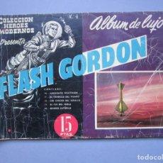Tebeos: FLASH GORDON (1961, DOLAR) -ALBUM DE LUJO- 4 · IV-1961 · FLASH GORDON. Lote 145514802