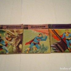 Tebeos: SUPERMAN - EDITORIAL DOLAR - NUMEROS 3,4 Y 9 - GORBAUD - CJ 100. Lote 146779150