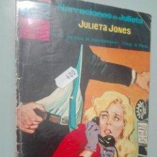 Tebeos: NARRACIONES DE JULIETA. JULIETA JONES 11 #. Lote 146979298
