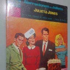Tebeos: NARRACIONES DE JULIETA. JULIETA JONES 12 #. Lote 146979386