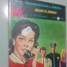 Tebeos: NARRACIONES DE JULIETA. JULIETA JONES 15 #. Lote 146979574