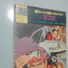 Tebeos: HEROES MODERNOS.SERIE AMARILLA 22 #. Lote 146980478