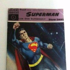 Tebeos: SUPERMAN - COLECCIÓN COMPLETA 18 EJEMPLARES MUY BIEN CONSERVADOS (A EXCEPCIÓN Nº.8 UN POCO USADO). Lote 147190678