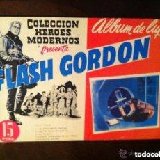 Tebeos: FLASH GORDON - ALBUM LUJO Nº. 1 - EXTRAORDINARIA CONSERVACIÓN. Lote 147193442