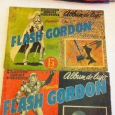 Tebeos: FLASH GORDON - ALBUM DE LUJO - LOTE DE 2 - NÚMEROS 5 Y 6. Lote 147193766