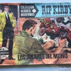 Tebeos: RIP KIRBY. LOS DOLARES DEL MONO. Lote 147309530