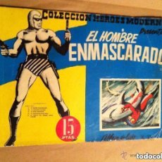 Tebeos: ALBUM LUJO -LOTE 5 EJEMPLARES - HOMBRE ENMASCARADO(2-13) Y FLASH GORDON(7-13-15). Lote 147896594