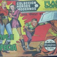 Tebeos: FLASH GORDON SERIE B Nº 30 SE CUMPLE LA PROFECIA EDIT DÓLAR AÑO 1958. Lote 148182898