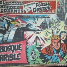 Tebeos: FLASH GORDEN Y EL HOMBRE ENMASCARADO Nº 47 EL BOSQUE HORRIBLE AÑO 1958. Lote 148184358