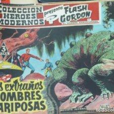 Tebeos: FLASH GORDEN Y EL HOMBRE ENMASCARADO Nº 44 LOS EXTRAÑOS HOMBRES MARISPOSAS EDIT DÓLAR AÑO 1958. Lote 148189322