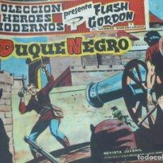 Tebeos: FLASH GORDEN Y EL HOMBRE ENMASCARADO Nº 46 EL DUQUE NEGRO EDIT DÓLAR AÑO 1958. Lote 148189766