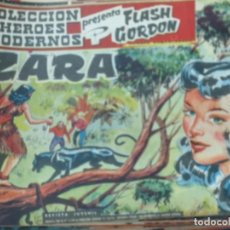 Tebeos: FLASH GORDEN Y EL HOMBRE ENMASCARADO Nº 6 ZARA EDIT DÓLAR AÑO 1958. Lote 148190114