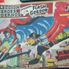 Tebeos: FLASH GORDEN Y EL HOMBRE ENMASCARADO Nº 15 LAS MAQUINAS TODOPODEROSAS EDIT DÓLAR AÑO 1958. Lote 148191506