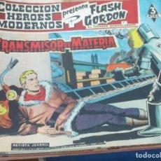 Tebeos: FLASH GORDEN Y EL HOMBRE ENMASCARADO Nº 62 EL TRANSMISOR DE MATERIA EDIT DÓLAR AÑO 1958. Lote 148191874