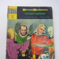 Tebeos: HEROES MODERNOS. FLASH GORDON. Nº 8. DOLAR 1959 VSD02. Lote 148575770