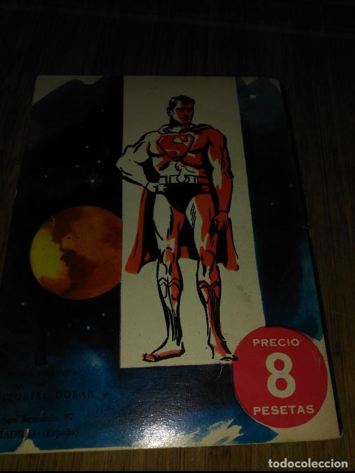 Tebeos: Supermán Nº 15 Editorial Dolar Los Superpoderes de Luisa Lane - Foto 2 - 150676242