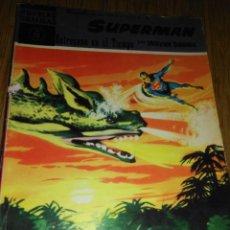 Tebeos: SUPERMÁN Nº 16 EDITORIAL DOLAR RETROCESO EN EL TIEMPO MUY DIFÍCIL. Lote 150676802