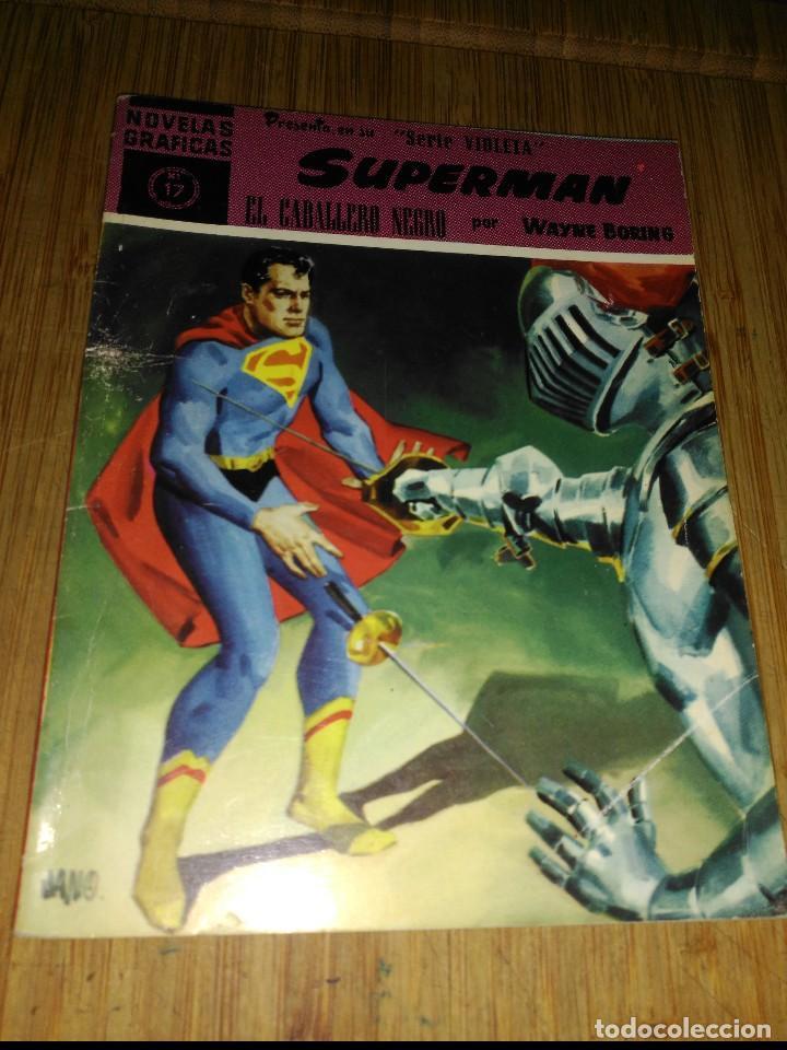 SUPERMÁN Nº 17 EDITORIAL DOLAR EL CABALLERO NEGRO MUY DIFÍCIL (Tebeos y Comics - Dólar)