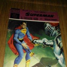 Tebeos: SUPERMÁN Nº 17 EDITORIAL DOLAR EL CABALLERO NEGRO MUY DIFÍCIL. Lote 150677106