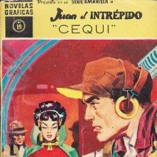 Tebeos: COMIC COLECCION NOVELAS GRAFICAS SERIE AMARILLA Nº 19 JUAN EL INTREPIDO. Lote 150765882