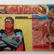Tebeos: RANGER JUVENIL ORIGINAL Nº 8 - EDITORIAL DOLAR 1958. Lote 151035354