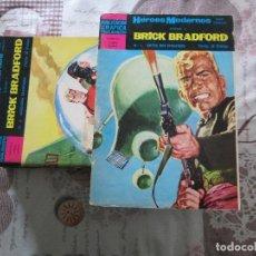 Tebeos: LOTE DE 14 BRICK BRADFORD DE 16 EDITORIAL DOLAR FALTAN LOS NUMEROS 11 Y 14. Lote 151856190