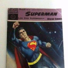 Tebeos: SUPERMAN - COLECCIÓN COMPLETA 18 EJEMPLARES MUY BIEN CONSERVADOS (A EXCEPCIÓN Nº.8 UN POCO USADO). Lote 154158618