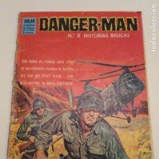 Tebeos: DANGER MAN N°11 HISTORIAS BELICAS COMICS DOLAR VIETNAM. Lote 154563866