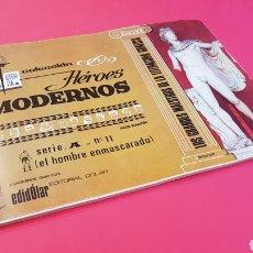 Tebeos: BASTANTE NUEVO EL HOMBRE ENMASCARADO SERIE A 11 HEROES MODERNOS DOLAR. Lote 155584246