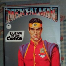 Tebeos: MENTALMAN - Nº 1 -LA SAGA DE LOS CANYON-1991-UN ORIGINAL SUPERHÉROE ESPAÑOL-J.BOIX-DIFÍCIL-0538. Lote 155689162