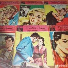Tebeos: LOTE JULIETA JONES. SERIE MAGENTA. EDITORIAL DOLAR 1958-59. Nº 10,12,13,22,23,25. . Lote 155896522