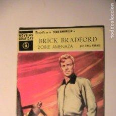 Tebeos: NOVELAS GRÁFICAS SERIE AMARILLA Nº 18 - BRICK BRADFORD. DOLAR, 1959. POR PAUL NORRIS. Lote 155916162