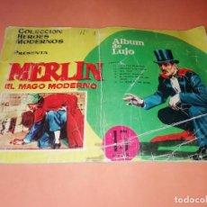Tebeos: MERLIN EL MAGO MODERNO, DOLAR, ALBUM DE LUJO Nº 3 CONTIENE DEL Nº 11 AL 16, HEROES MODERNOS.1958.. Lote 156823578