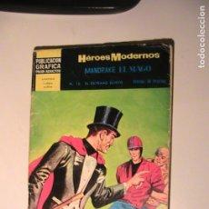 Tebeos: MANDRAKE EL MAGO Nº 16. HÉROES MODERNOS. DÓLAR, 1960.. Lote 157949442