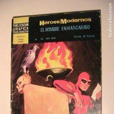 Tebeos: HOMBRE ENMASCARADO Nº 40. HÉROES MODERNOS- DÇOLAR. 1960.. Lote 157949702