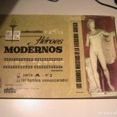 Tebeos: COLECCIÓN HÉROES MODERNOS - SERIE A - Nº 2. DÓLAR.. Lote 157951682